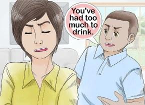 Как помочь пьяному человеку
