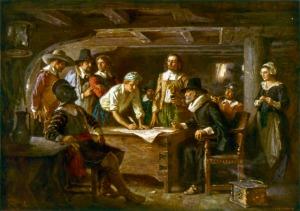 Подписание Мейфлауэрского соглашения