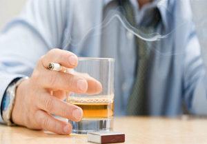 мифы об употреблении алкоголя: алкогольные напитки и сигареты