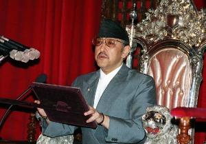 Экс-король Непала Birendra