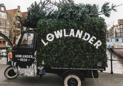 зимний IPA из елки от Lowlander