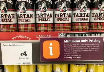 Шотландия стала первой европейской страной, в которой ввели минимальные розничные цены на алкоголь